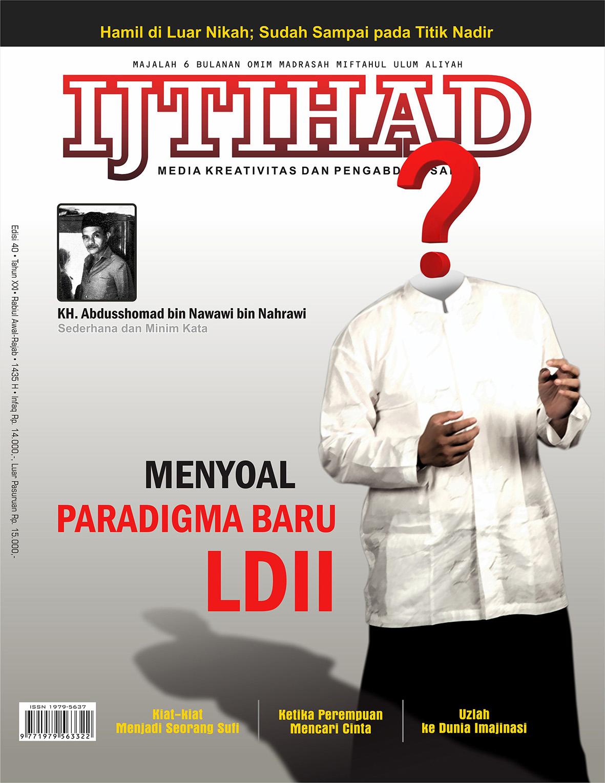 Cover IJTIHAD depan