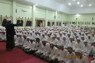 Pengurus Ubudiyah Gelar Pembinaan Praktek Shalat untuk Santri Baru