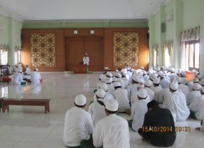 MMU Tsanawiyah Ringkas al-Miftah lil Ulum sebagai Materi Pembinaan Murid LPPS