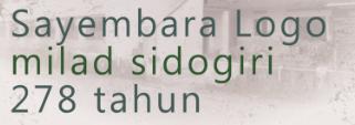 Sayembara Logo Milad Sidogiri 278 Tahun