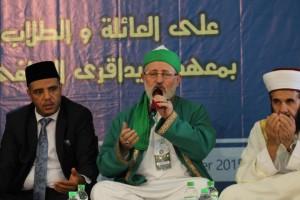 Syaikh Fadil Al-Jailani memimpin doa untuk kesejahteraan umat islam Timur Tengah