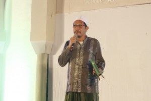 Ust Sayifullah Muhyiddin, Ketua II saat memberikan sambutan