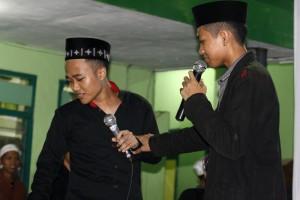 Salah satu peserta Talkshow saat berkomentar tentang Islam Nusantara