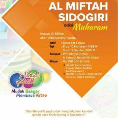 Training Al Miftah Lil Ulum Sidogiri