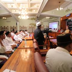 Imbangi Berita Hoax, HMASS Launching Website Resmi