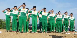 Dua Perwakilan MMU Tingkat Tsanawiyah Sabet Juara Lomba Baris