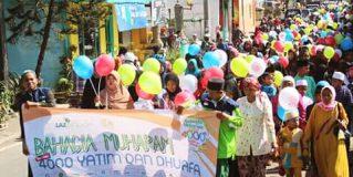 Semarak Bahagia Muharam LAZ Sidogiri Bersama 4000 Yatim & Duafa