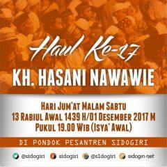 Haul KH. Hasani bin Nawawie