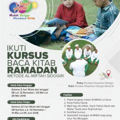 Kursus Al-Miftah Ramadan