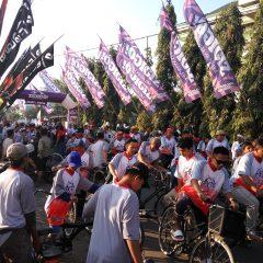 Fun Bike; Sepeda Santri, Cara Santri Menyapa Umat