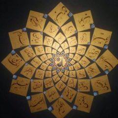 Permasalahan Kaligrafi Asmaul Husna