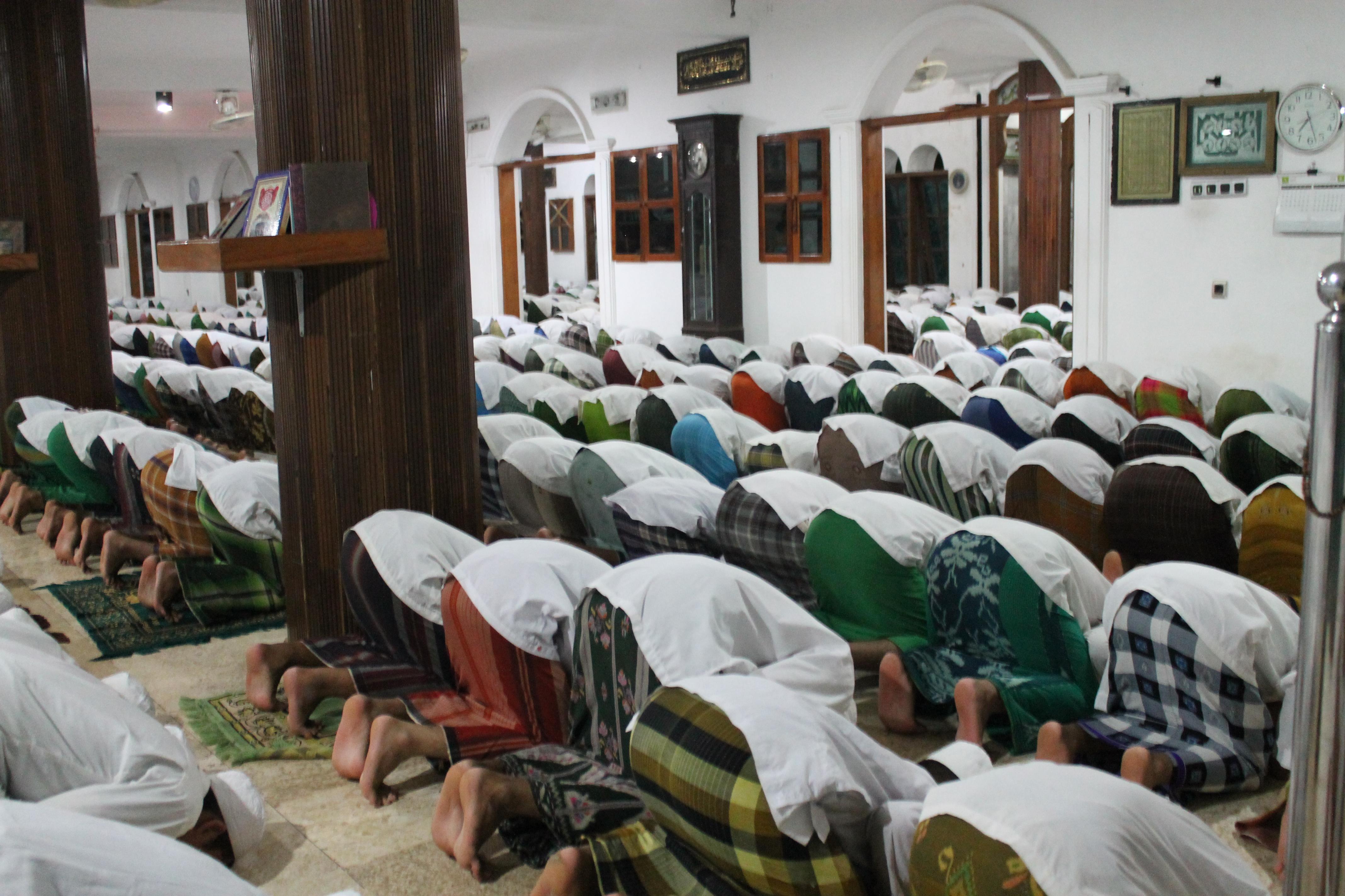 salah satu pelatihan yang diadakan oleh Ubudiyah berupa manasik haji