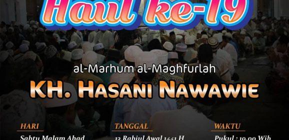 Haul ke-19 KH. Hasani Nawawie