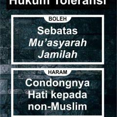 """Hukum """"Toleransi"""""""