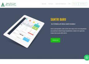 Alur Proses Registrasi Online Santri dan Murid Baru