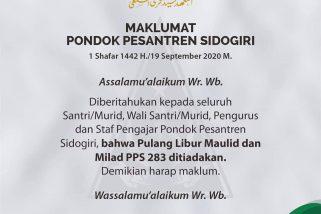 Maklumat Pondok Pesantren Sidogiri