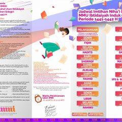 Jadwal Imtihan Niha'i (IMNI) MMU Ibtidaiyah Induk