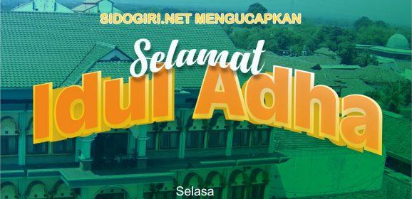 Sidogiri.net Mengucapkan Selamat Hari Raya Idul Adha